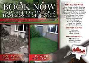Landscaping/Lawncare/Interlock Spring Clean Ups Available Now!!