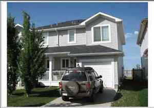 1/2 Duplex FORT SASK Available for Rent DEC 1st, LIKE NEW!