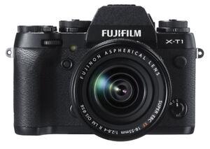 Fuji X-T1 Camera FujiFilm Mirrorless