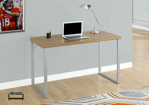 NEW ★ COMPUTER DESK ★ SILVER METAL ★ Can Deliver Cambridge Kitchener Area image 1
