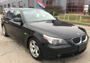 2007 BMW 5-Series 525i Sedan*Certified*No Accidents*Warranty!!!
