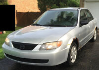 2003 Mazda Protege LX Sedan NEGOTIABLE