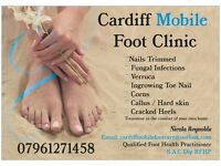 Cardiff mobile foot / feet care service