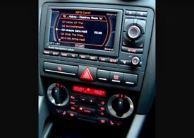 Genuine Audi A3 s3 Rns-e 8p model 03-12 Navigation Plus System Sat Nav cd player