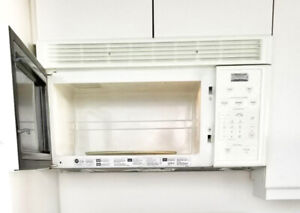 Microwave with Exhaust