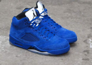 Nike Jordan 5 retro blue