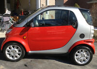 2005 Smart Fortwo Red Coupe (2 door)