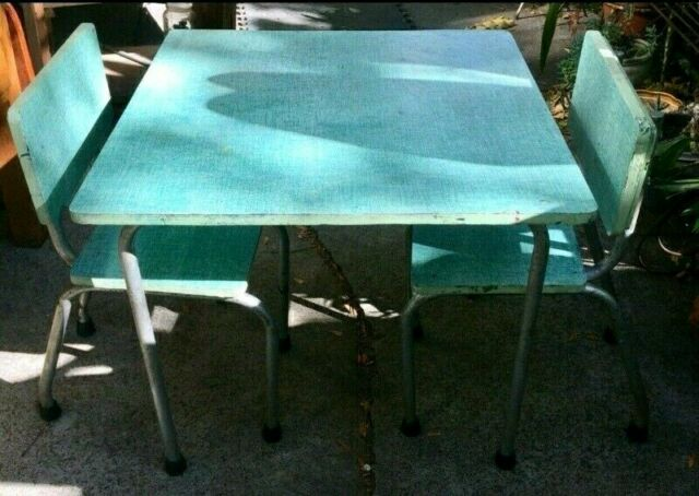Vintage Retro Kids Children Table Chair Set Other Baby Children Gumtree Australia Brimbank Area St Albans 1264118909