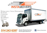 INSTAMOVERS(COMMERCIAL MOVING/DÉMÉNAGEMENT COMMERCIAL)