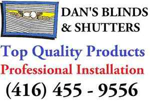 Dan's Blinds & Shutters