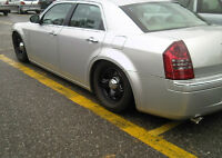 Chrysler 300 winter tires and rims