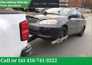 ❗️ATTENTION❗️TOP CASH FOR SCRAP CARS CALL-TXT  ✅✅416-741-9222