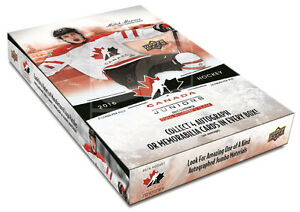 2016-17 Upper Deck TC World Juniors Hockey Cards Hobby Box Kitchener / Waterloo Kitchener Area image 1