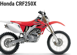 Looking for a Honda Crf250x