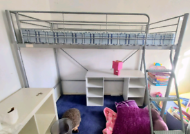 High sleeper bed. Kids bed. Single bed.