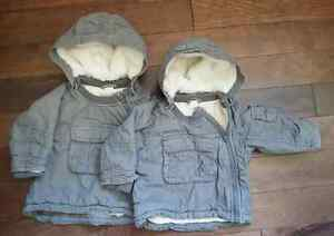 winter fall clothes for twin boys / vetements pour jumeaux hiver