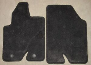 Ford Escape Carpet Front Mats Black 2008 2009 2010 2011 2012