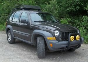 2005 Jeep Liberty 4X4, 6 vitesses manuelle
