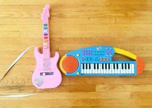 Musical Toy Guitar & Musical Toy Organ
