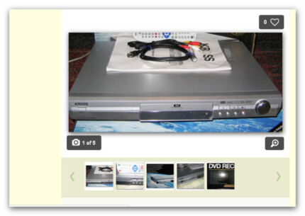80 gig hard drive DVD RECORDER, & FULL FUNCTION REMOTE, + manual