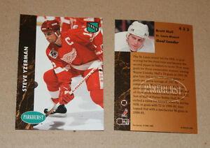 Parkhurst 1991-92 hockey cards