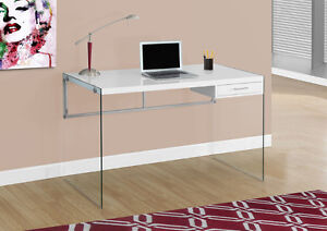 BUREAU D'ORDINATEUR, DESK, OFFICE, BUREAU TIRROIR, PUPITRE
