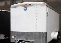 Enclosed TraTrailer 7x16 From Wells Cargo By JJ Trailers