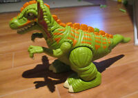 Jouet-Toy-Fisher Price Imaginex Moving Real Sounds Dinosaur