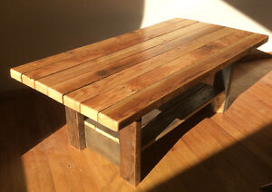 Rustic coffee table ,reclaimed wood furniture