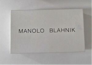 MANOLO BLAHNIK WHITE AUTHENTIC SHOE BOX CLOSET ORGANIZER DECOR