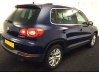 2009 VW TIGUAN 2.0 TDI SE 4MOTION GOOD / BAD CREDIT CAR FINANCE FROM 44 P/WK