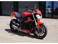 2015 TRIUMPH STREET TRIPLE ABS, EXCELLENT CONDITION, £5,450 OR FLEXIBLE FINANCE