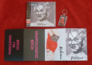 MADONNA - REBEL HEART / JAPAN CD / Bonus Track / Edition Limitée