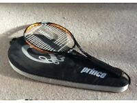 Tennis Racket - Prince O3 Tour - and case