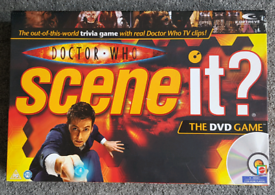 Doctor Who Scene it DVD Game
