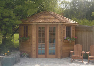 Wood sheds for sale