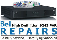 BELL SATELLITE RECEIVER REPAIRS PVR 9241 9242 9400 and 6400