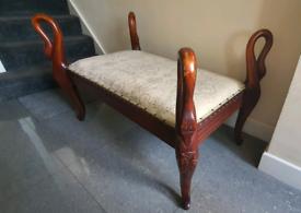 Beautiful Swan Seat/Bench