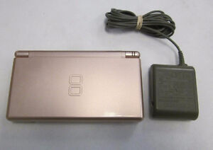 ***METALLIC PINK NINTENDO DS LITE + MANY GAMES AVAILABLE!***