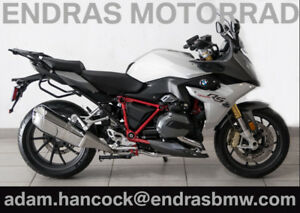 2017 BMW R1200RS - Light Grey / Magellan Grey