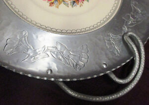 Vintage Wrought Farberware Tray&Bowl w/ Triumph Limoges Plate w/ Stratford Kitchener Area image 5