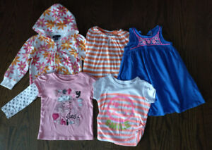 Clothes for the Girl 2T/3T (5pieces )