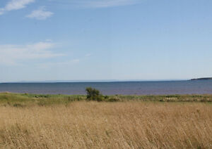 Southern Exposure land to Northumberland Strait and sandy beach