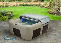 Free Cover Lift and Steps with Puchase of Hot Tub Spa