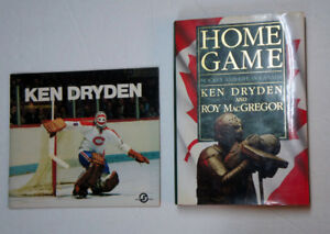 KEN DRYDEN - SIGNED HOME GAME HARDCOVER BOOK *AUTOGRAPHED*