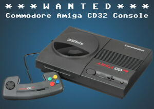 Commodore Amiga CD32 Game Console ★Wanted WORKING or NOT★