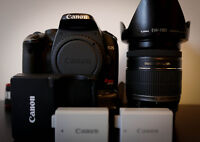 Canon 450d with 18-200mm canon lens