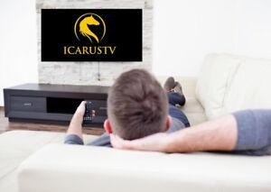 180 Canada-US Live TV Channels, 1700 International, Movies,Sport