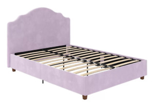 Upholstered Twin Bed in Lilac (new)