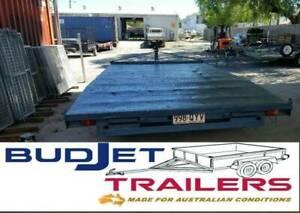 2.9T 5M BEAVER FLAT DECK TRAILER $90 PER DAY